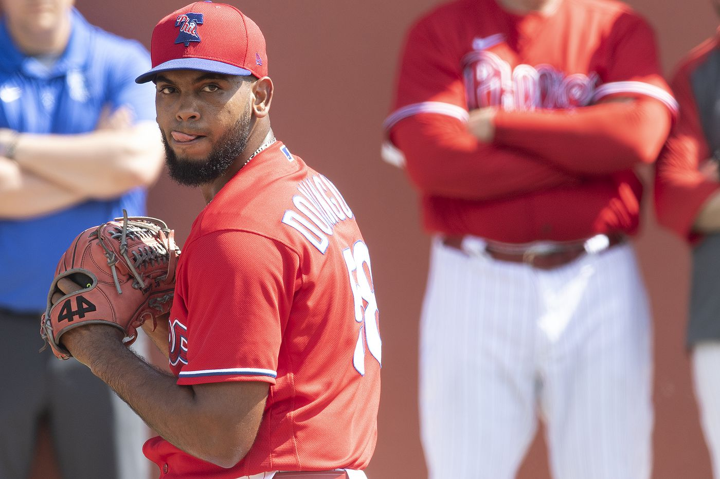 Phillies' Seranthony Dominguez facing decision after doctors recommend Tommy John surgery
