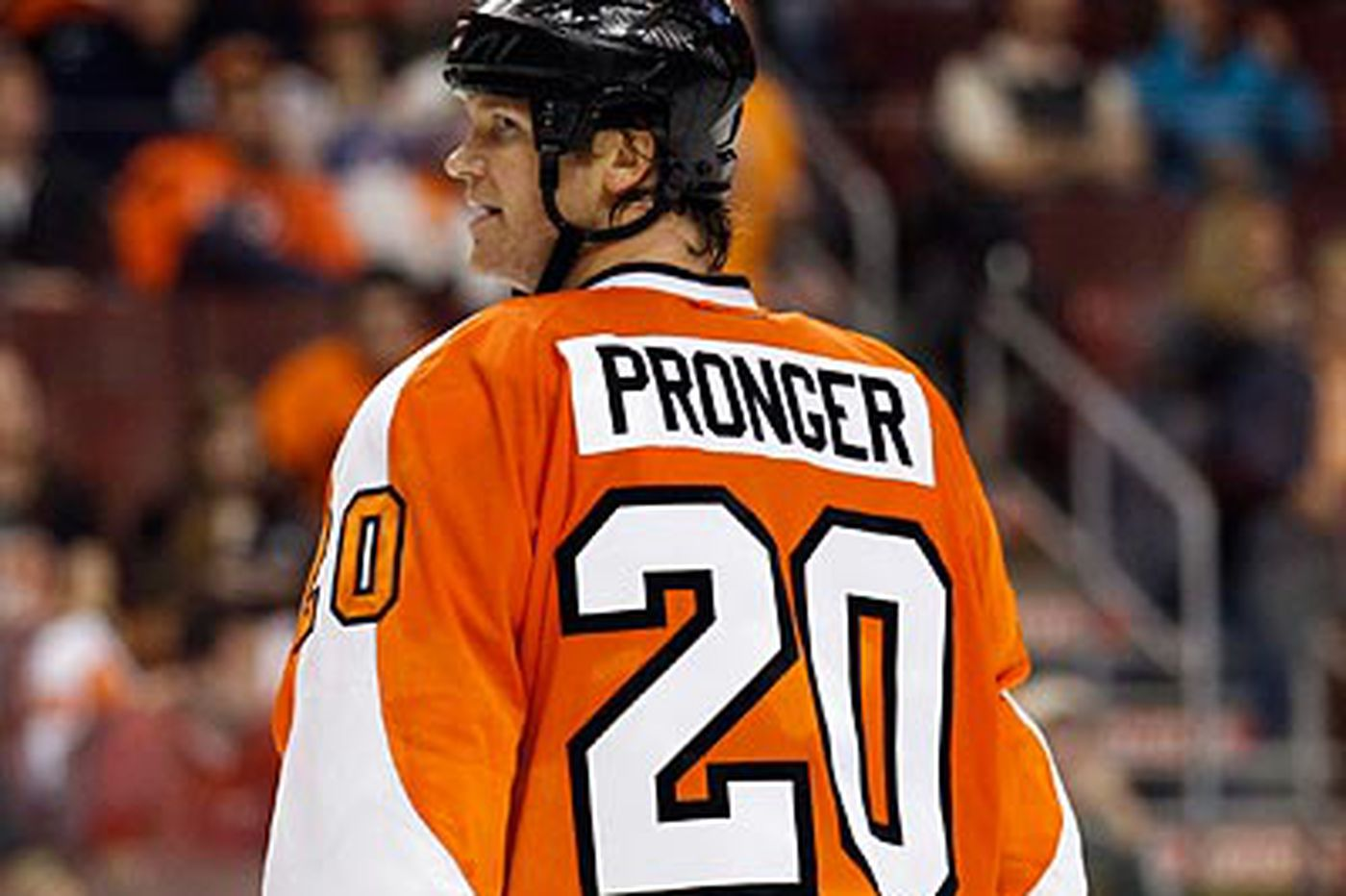 Flyers lose Pronger to postconcussion syndrome