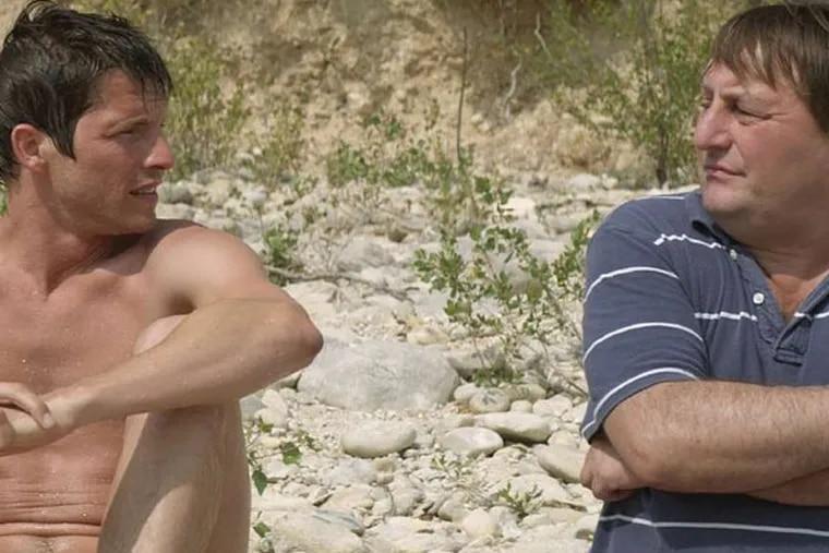 Pierre Deladonchamps (left), Patrick D'Assumçao in Stranger by the Lake.