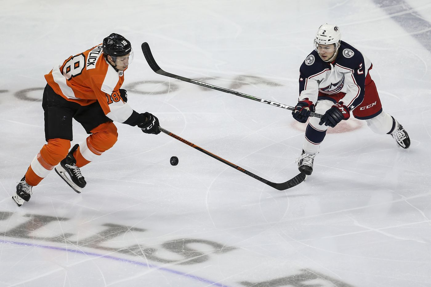 Tyler Pitlick's gritty play quietly helping Flyers' playoff drive | On the Fly