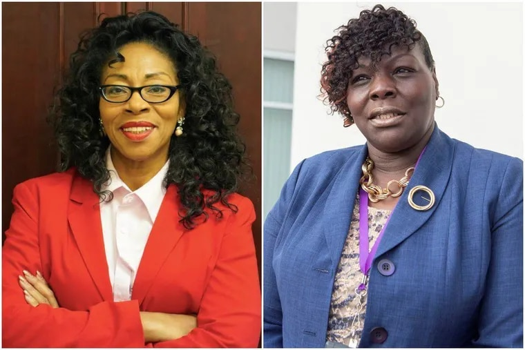 Republican Wanda Logan, left, and Democrat G. Roni Green, right, face off Tuesday in the special election for the 190th District of the Pennsylvania State House.
