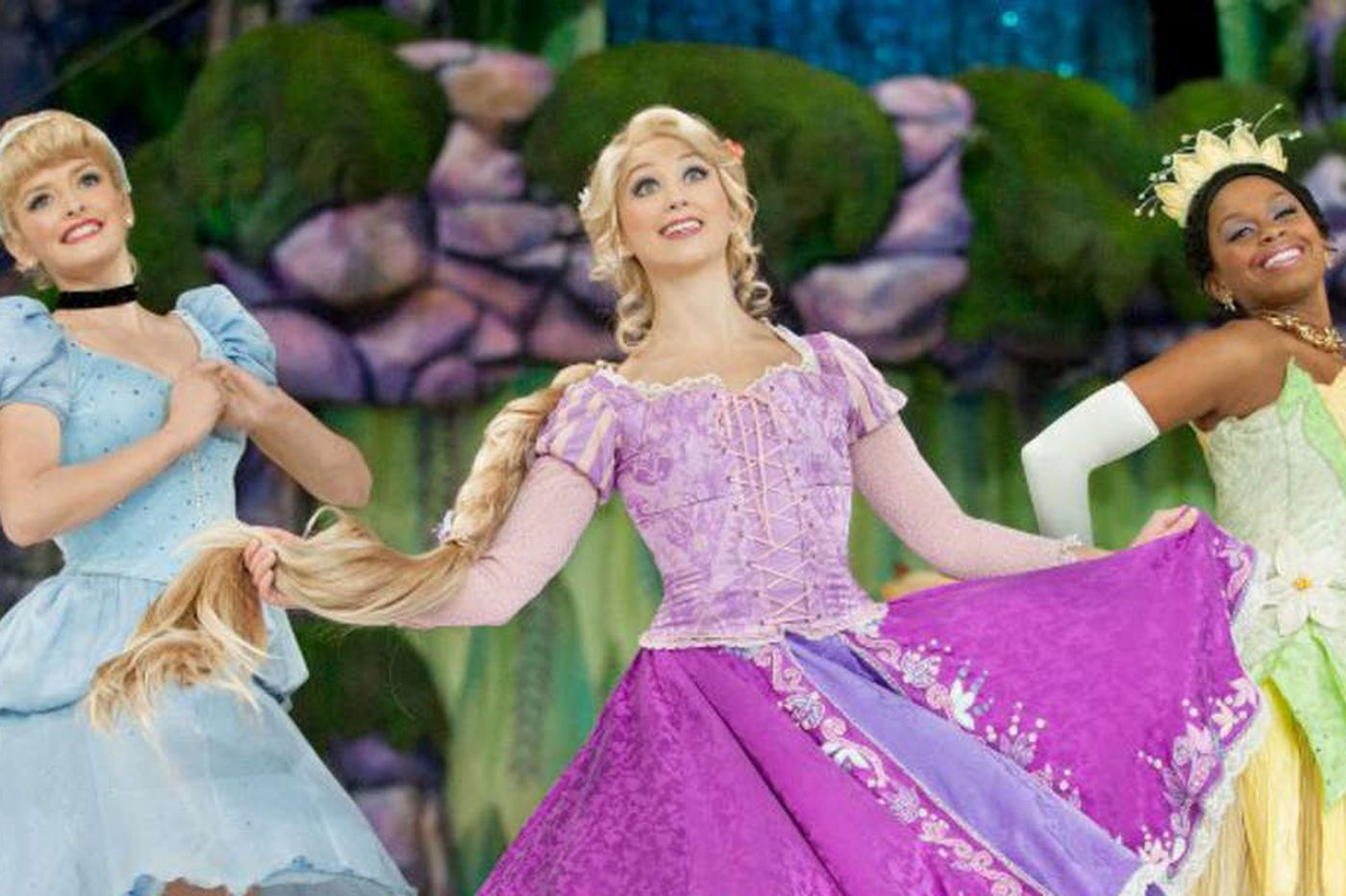 Skaters dare to dream in Disney show