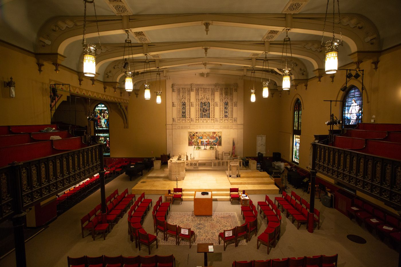 Closed Episcopal Church in Center City reopened to find a new mission — and graves beneath the floorboards