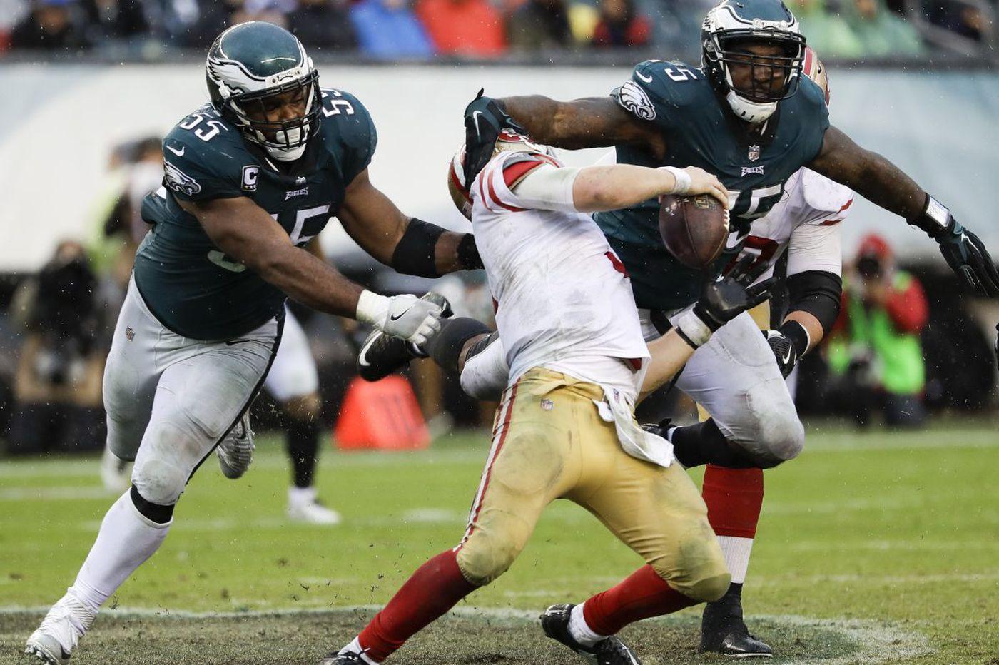 Eagles' d-line after Dak sacks on Sunday | Bob Ford