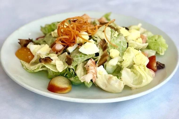 The Milan salad, as served at Bridget's Steakhouse in Ambler.