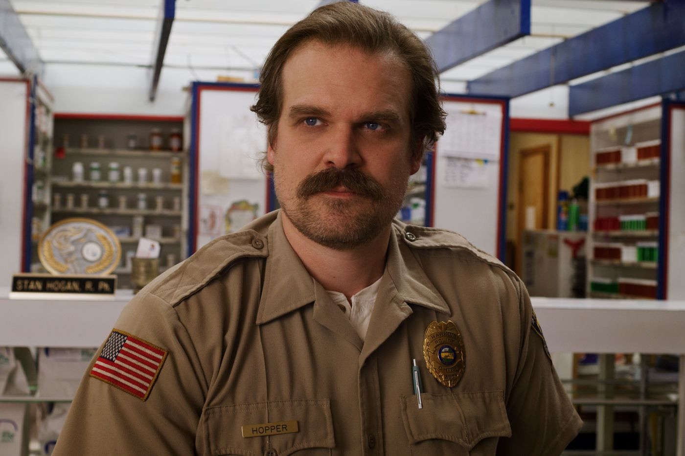 This interview with 'Stranger Things' star David Harbour won't spoil a thing