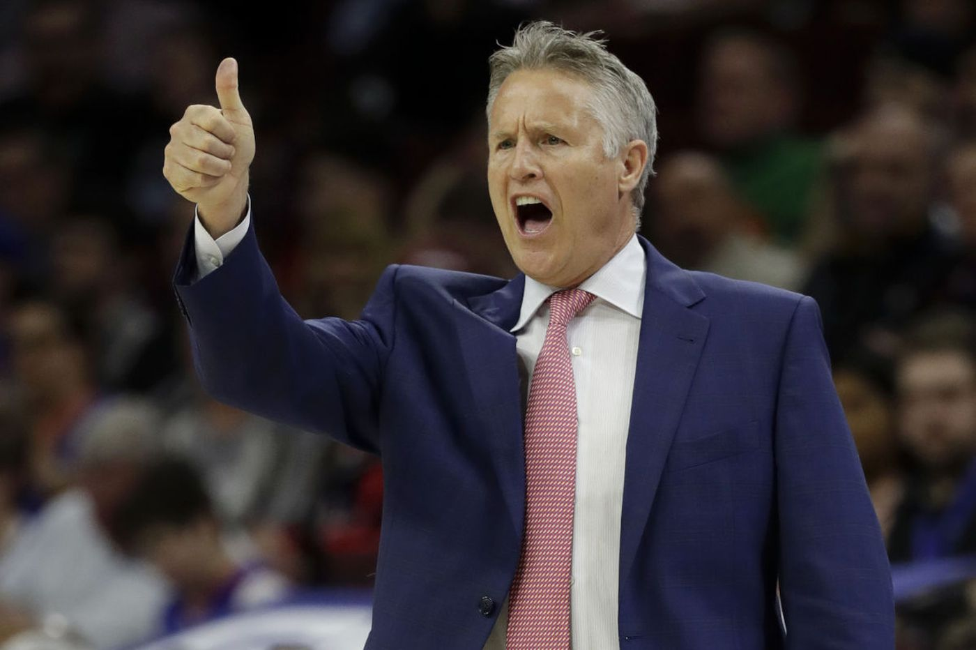 Brett Brown has proved to Sixers he deserves to lead this team
