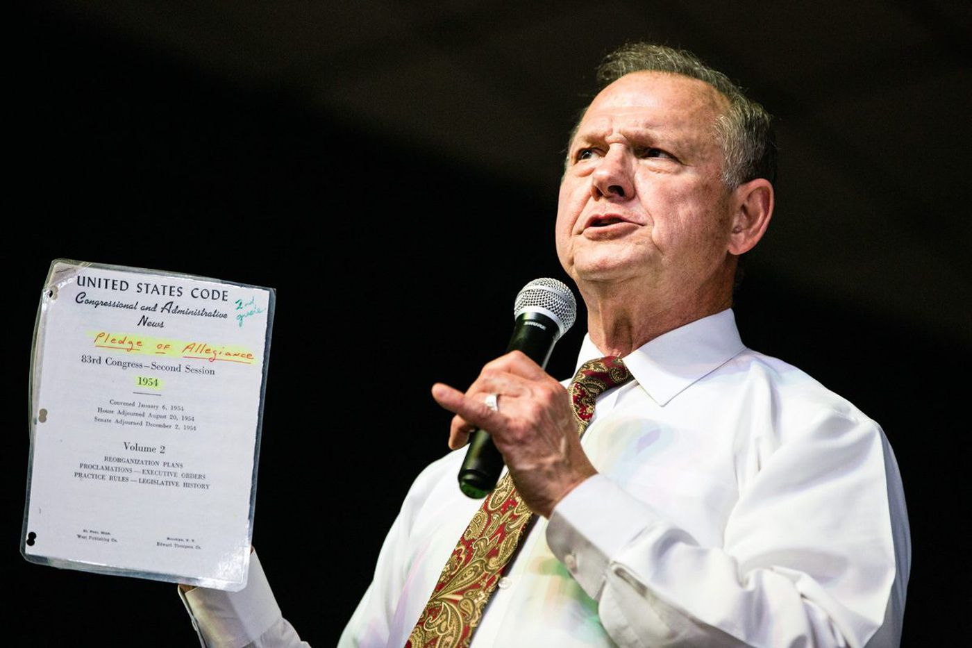 Moore denies sexual misconduct, does not rule out that he may have dated teen girls when he was in his 30s