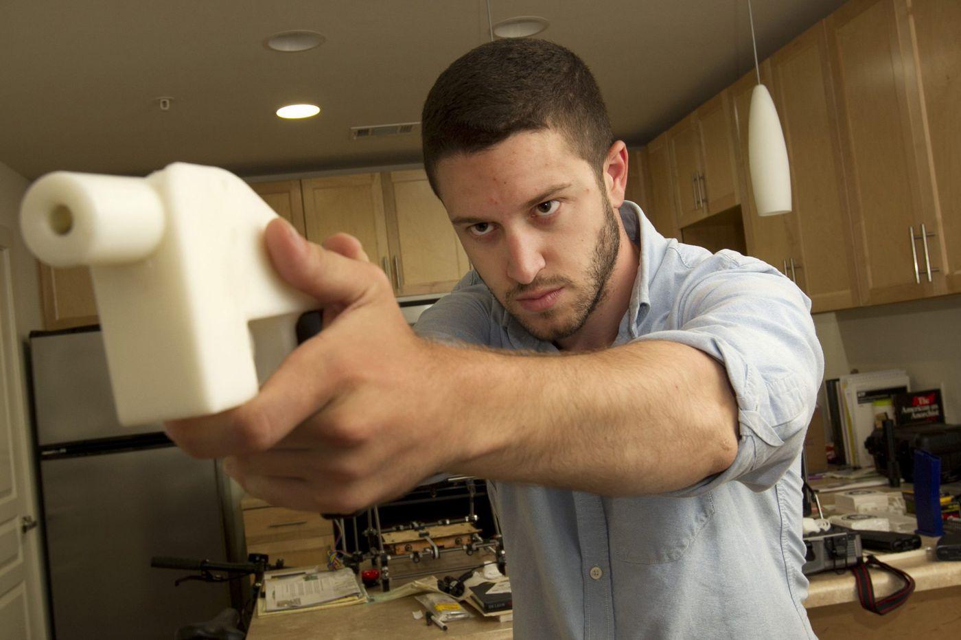 3D-printed gun maker selling his files, circumventing ban