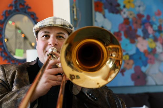 Combining klezmer and jazz in West Philadelphia, in pieces that range from pop music to all-out free jazz chaos