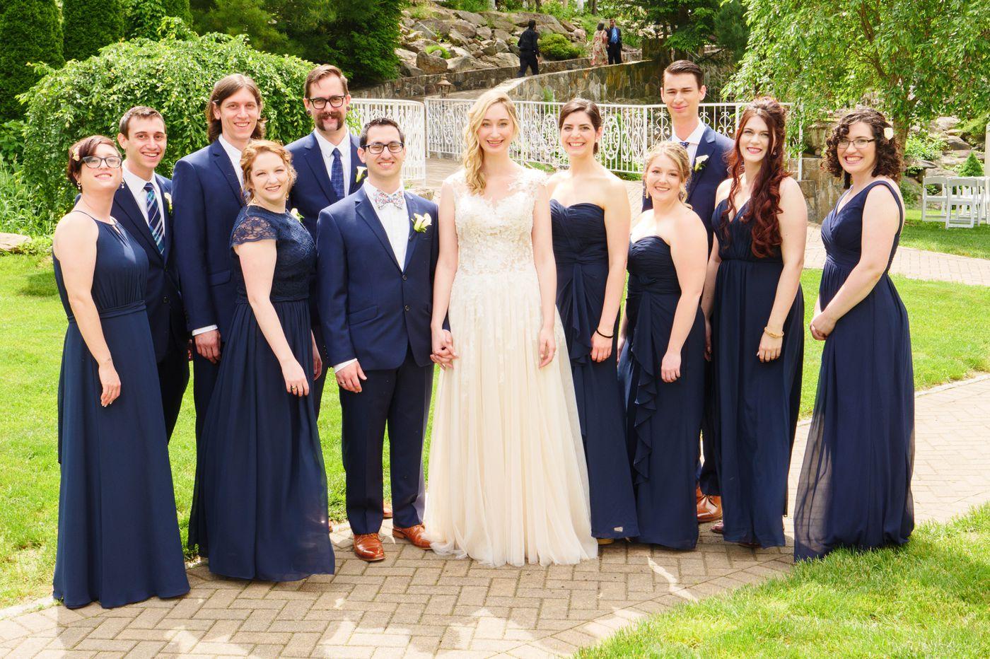 Philadelphia weddings: Moriah Benjoseph and Ben Nassau