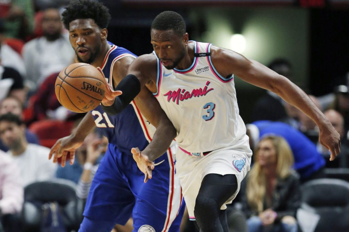 Sixers' road to a home playoff series runs through Miami Heat | David Murphy