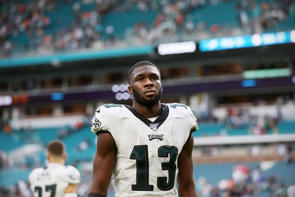 Eagles' Nelson Agholor and Jordan Howard are 'status quo' ahead of Cowboys game