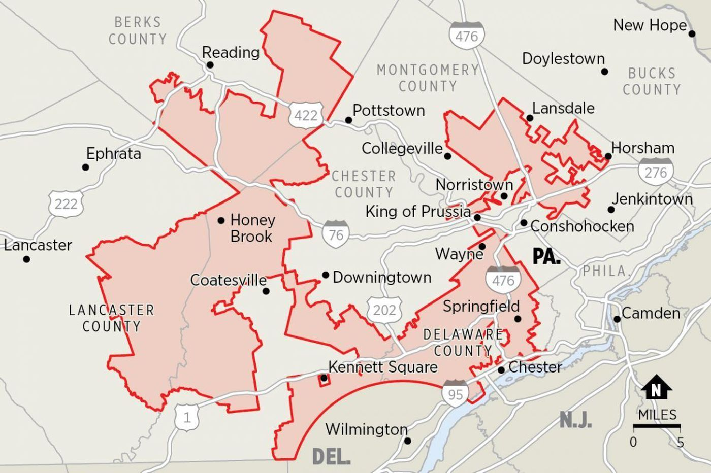 Gerrymandering and the 2018 elections: Advocates ask Pa. Supreme Court to use rare power