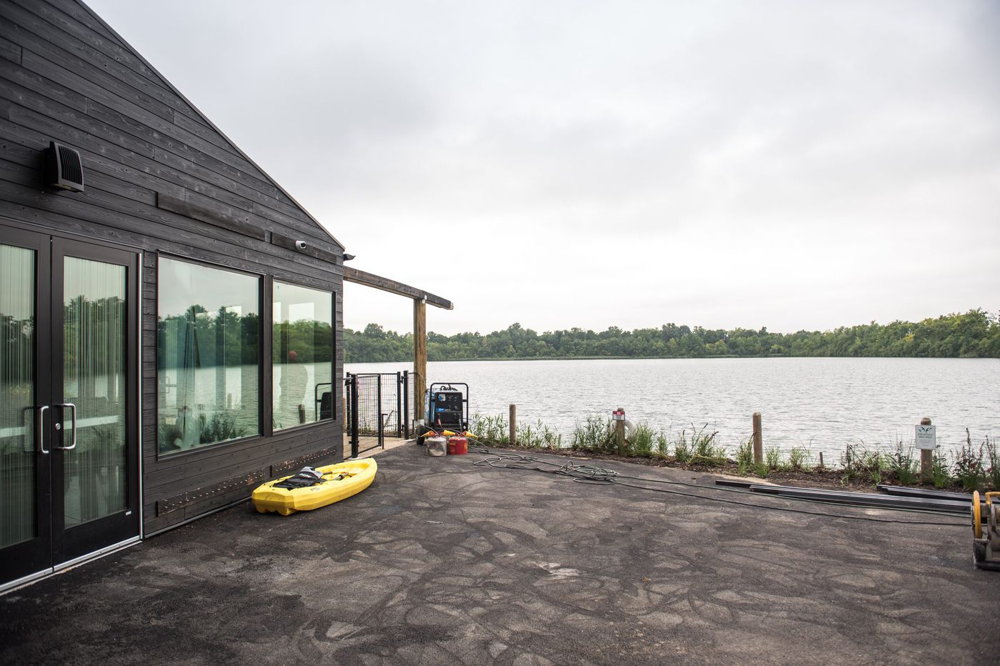 All-new Discovery Center brings a nature trail, exhibits, zip lines, and more to Fairmount Park reservoir