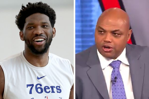 Charles Barkley and Shaq dig into Joel Embiid following Sixers win: 'You ain't playin' hard enough'