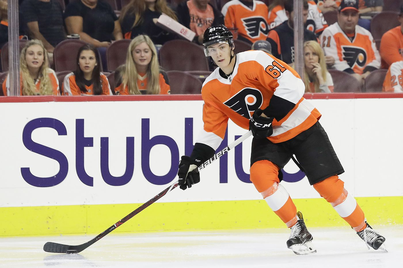Flyers defenseman Phil Myers solid in his NHL debut vs. Red Wings