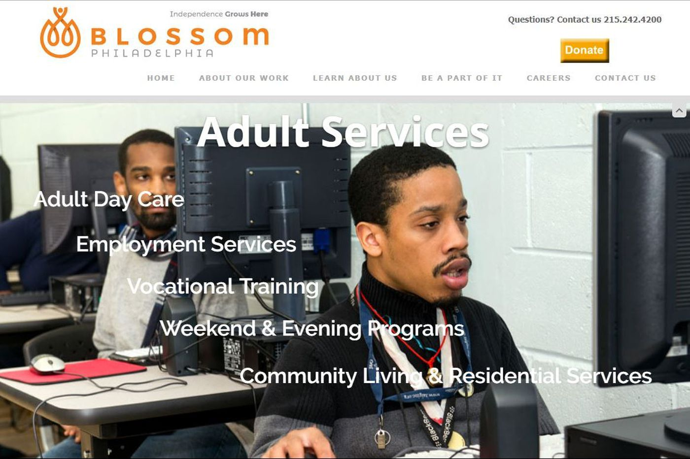 Blossom Philadelphia exiting residential services for intellectually disabled adults