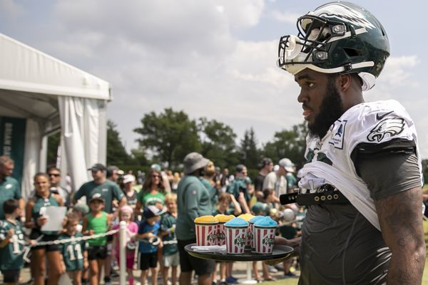 Eagles activate Shareef Miller for the first time; Ronald Darby active, but not really