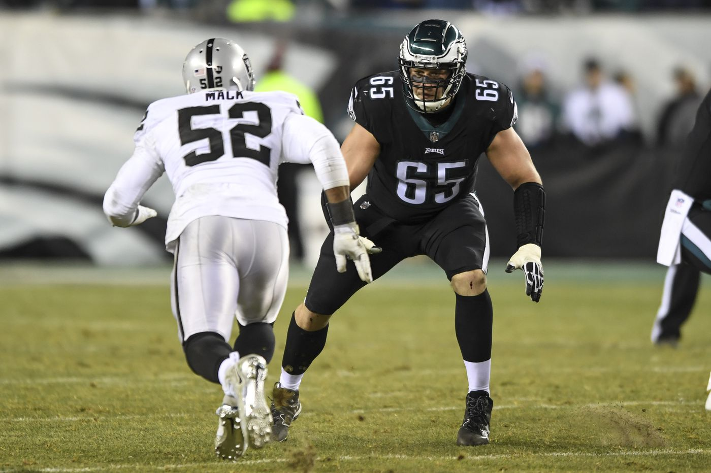 Scouting Khalil Mack: Can Eagles' Lane Johnson, Jason Peters contain the Bears' star? | Film breakdown