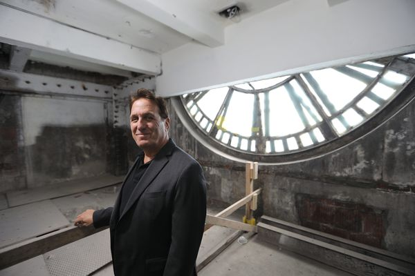 The old Inquirer Building is soon to become Police Headquarters. My tour was bittersweet. | Mike Newall