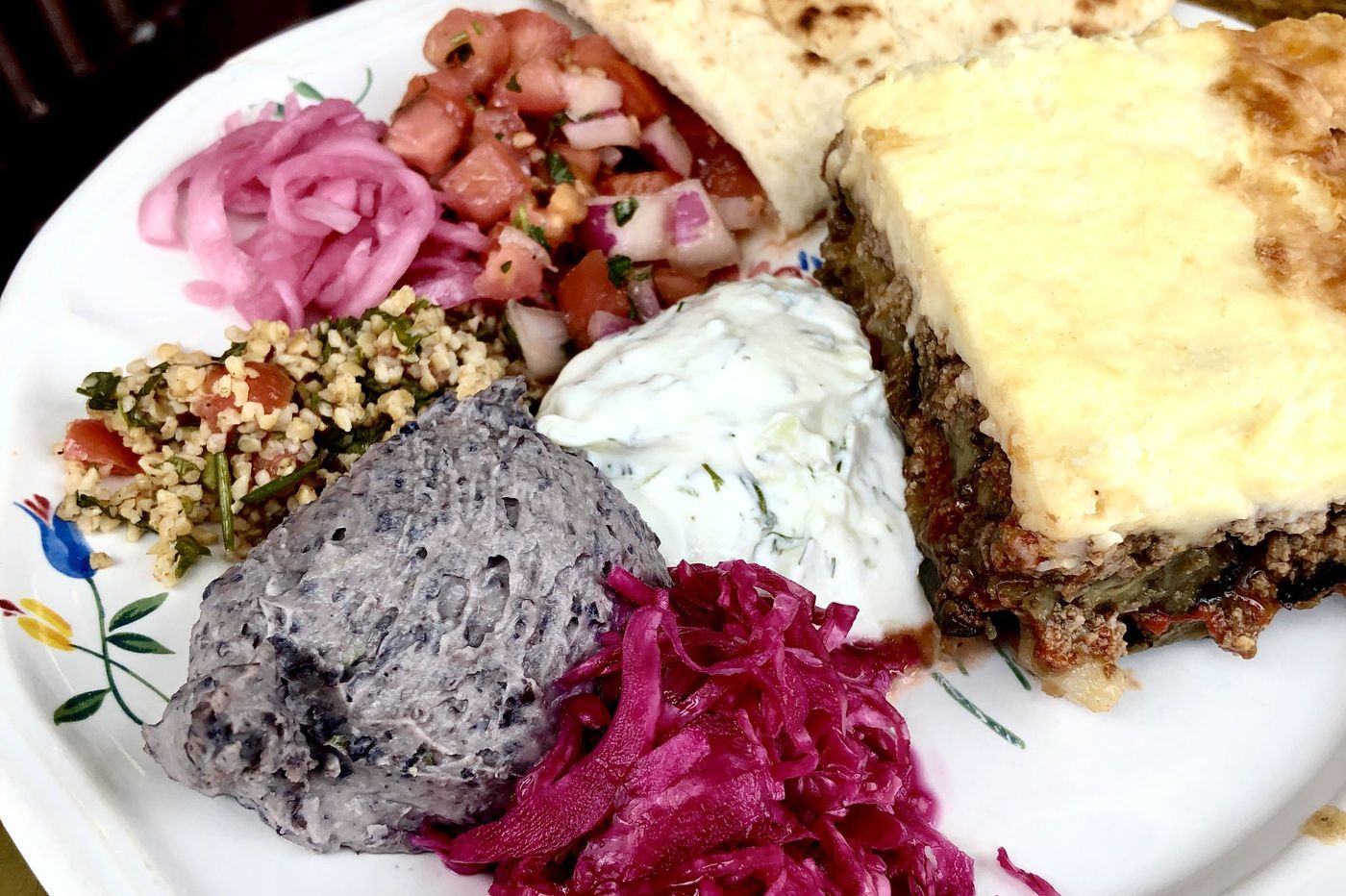 At Mount Airy cafe, moussaka is not to be missed