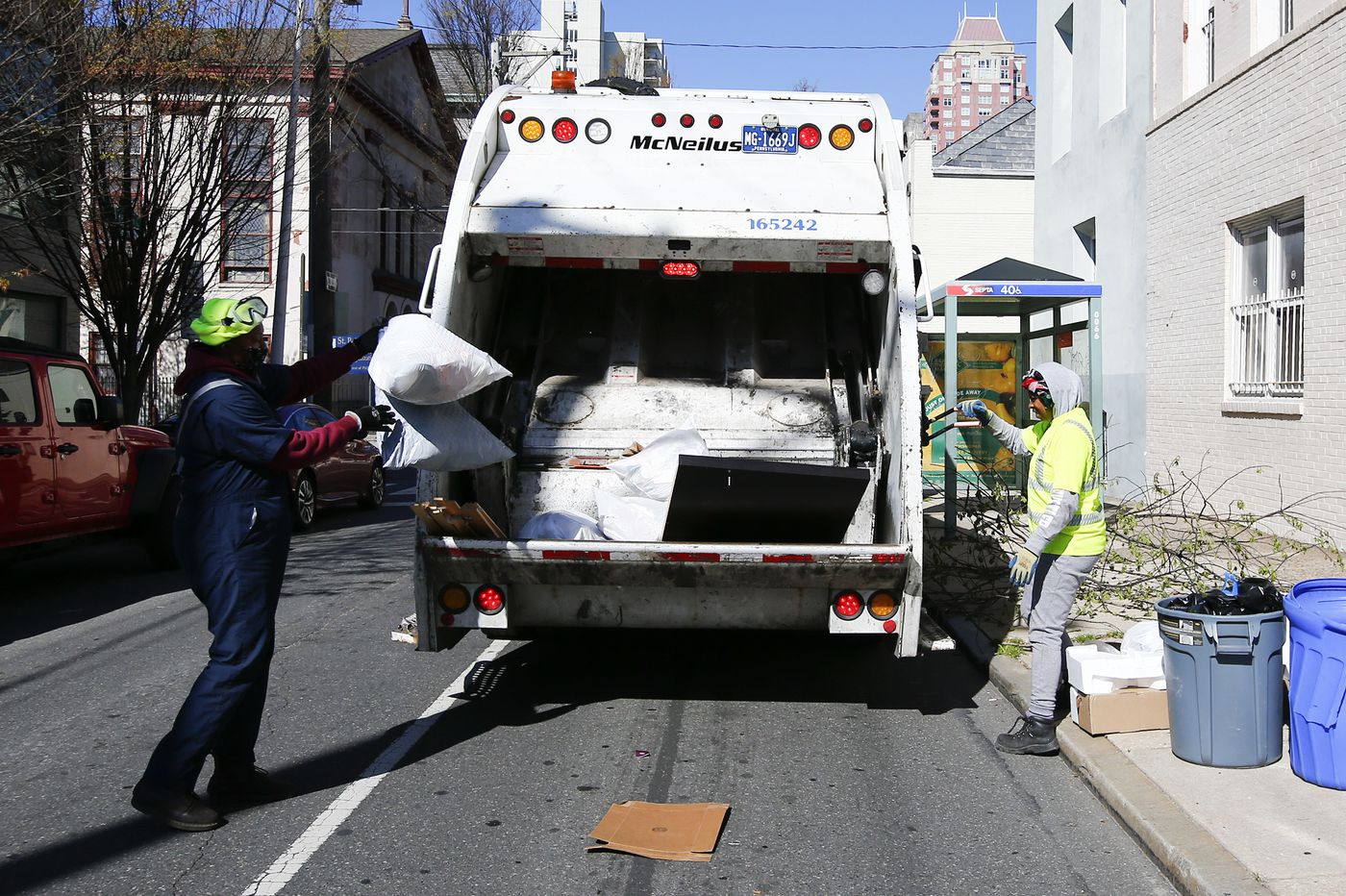 After trash pickup delays, Philly officials, sanitation workers clash over whether employees are calling out sick