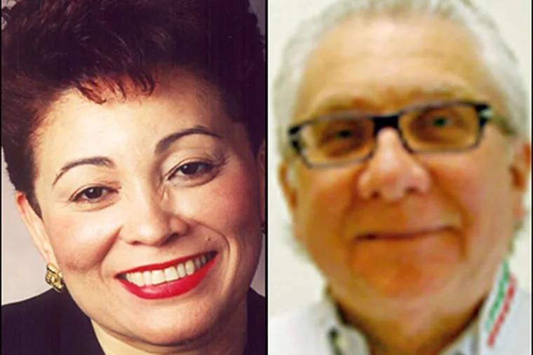 Gloria Bonilla-Santiago and Michele Pastorello