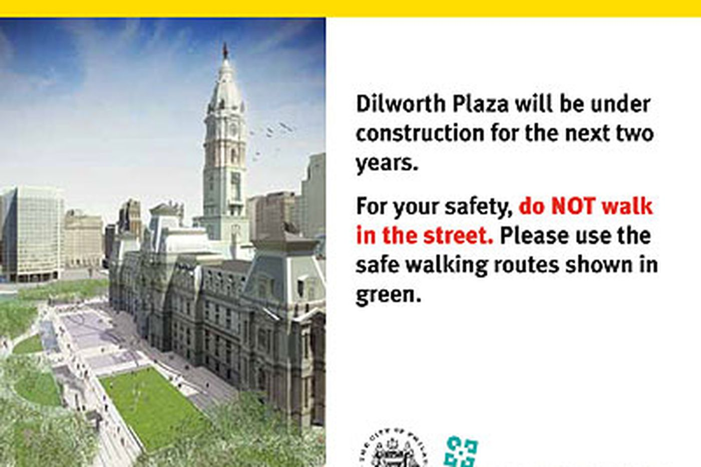 Inquirer Editorial: Protect pedestrians during Center City revival