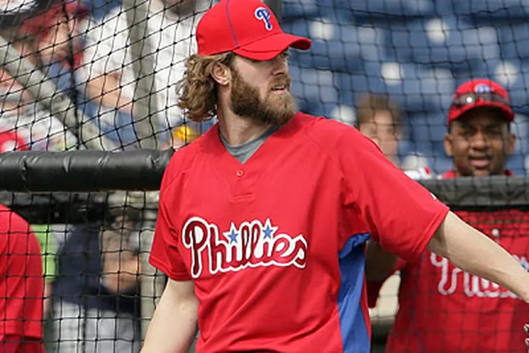 Jayson Werth is in the final season of a two-year, $10 million contract. (Yong Kim/Staff Photographer)