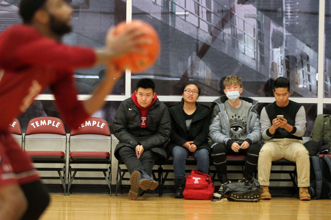 Temple hoops aims for new audience - in China