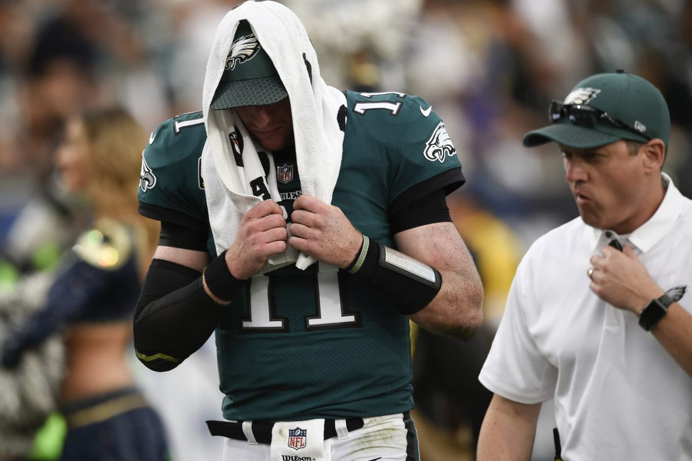 The Eagles were already worried about - and prepared for - a Carson Wentz injury | Bob Ford