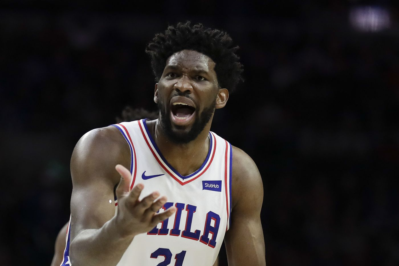 Joel Embiid putting weight of every Sixers loss on his shoulders