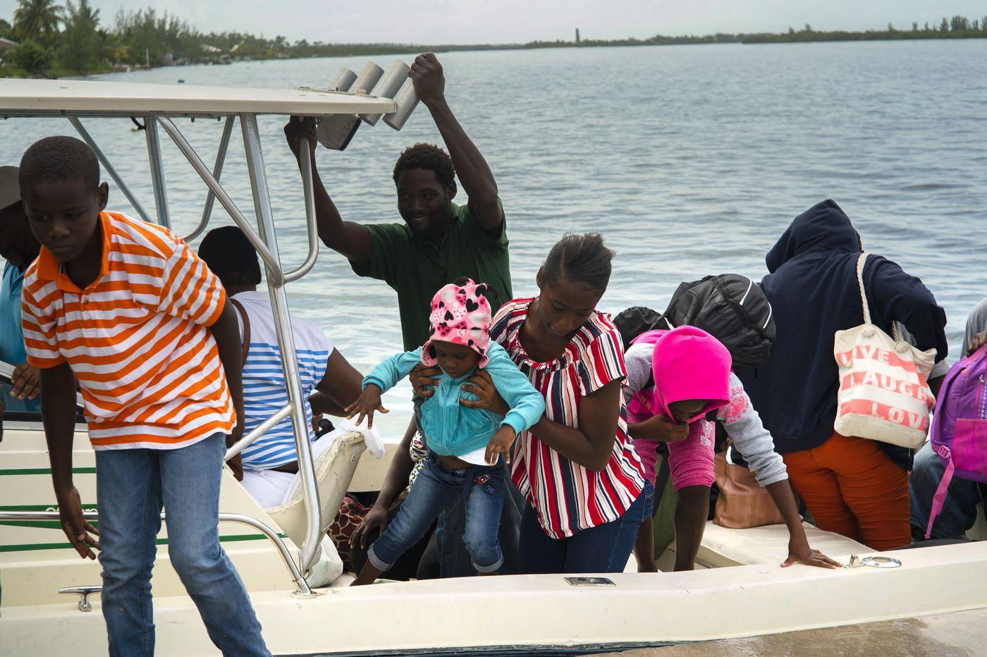 Evacuations begin as Dorian bears down on northern Bahamas