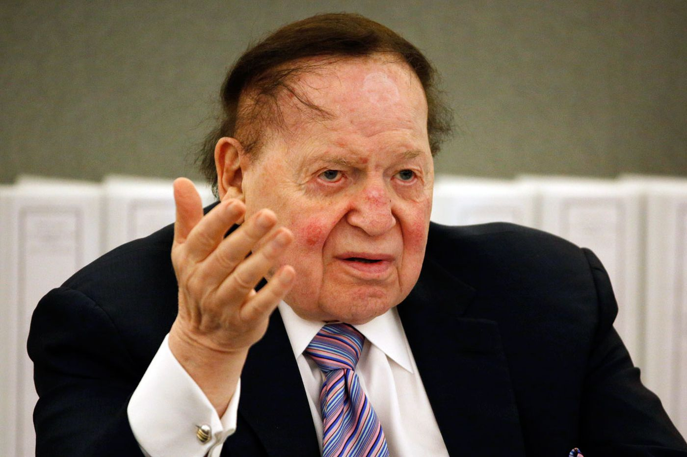 Audition for Adelson