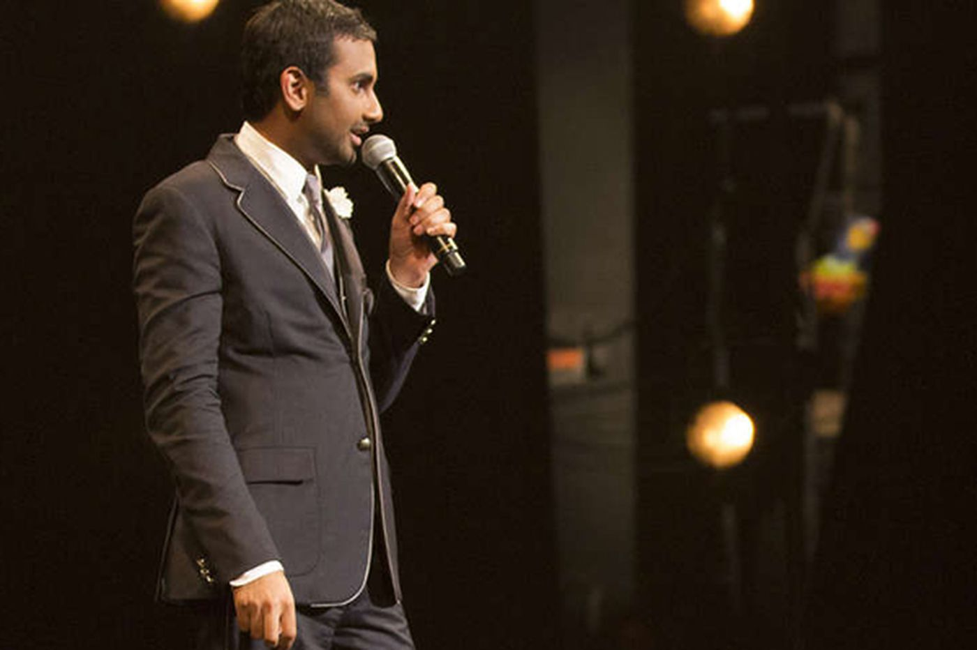 Aziz Ansari in concert: Stylish, shocking
