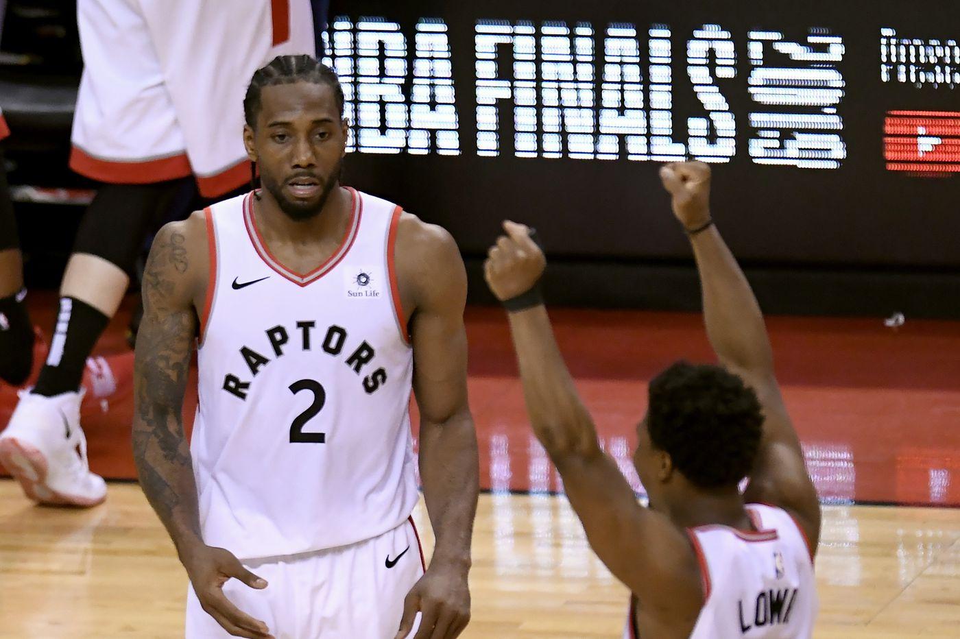 Raptors beat Bucks in NBA playoffs Game 6, advance to NBA Finals