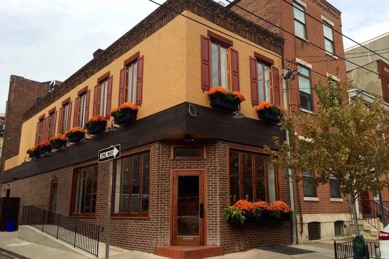 Brigantessa, 1520 E. Passyunk Ave., awaiting its sign on Oct. 7, 2014. (MICHAEL KLEIN / Philly.com)