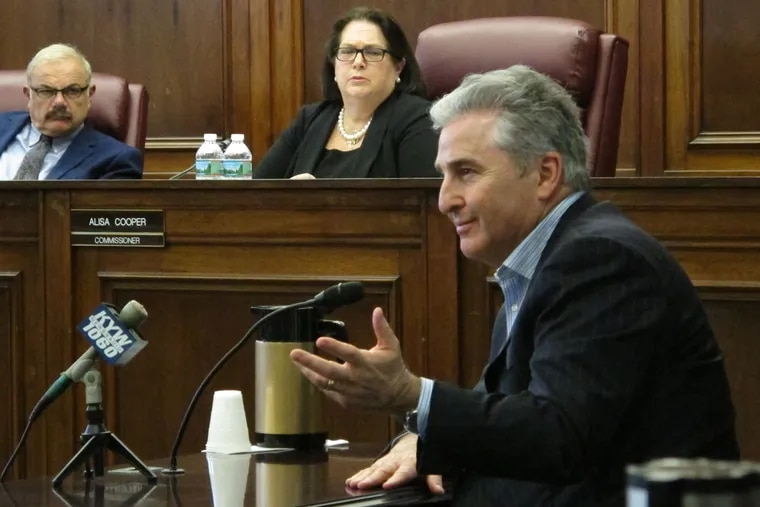 Bruce Deifik, owner of the Ocean Resort Casino, testifies before the New Jersey Casino Control Commission on Wednesday, June 20, 2018, seeking a casino license for the former Revel casino, which plans to open on June 28.