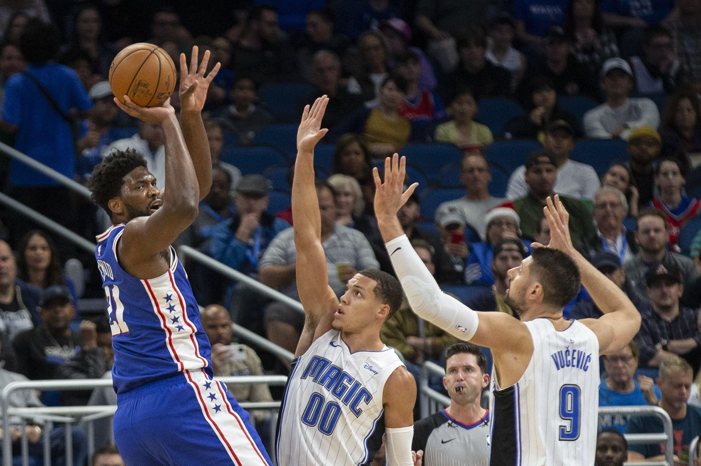 Sixers come out flat, lose to Magic after comeback bid falls short