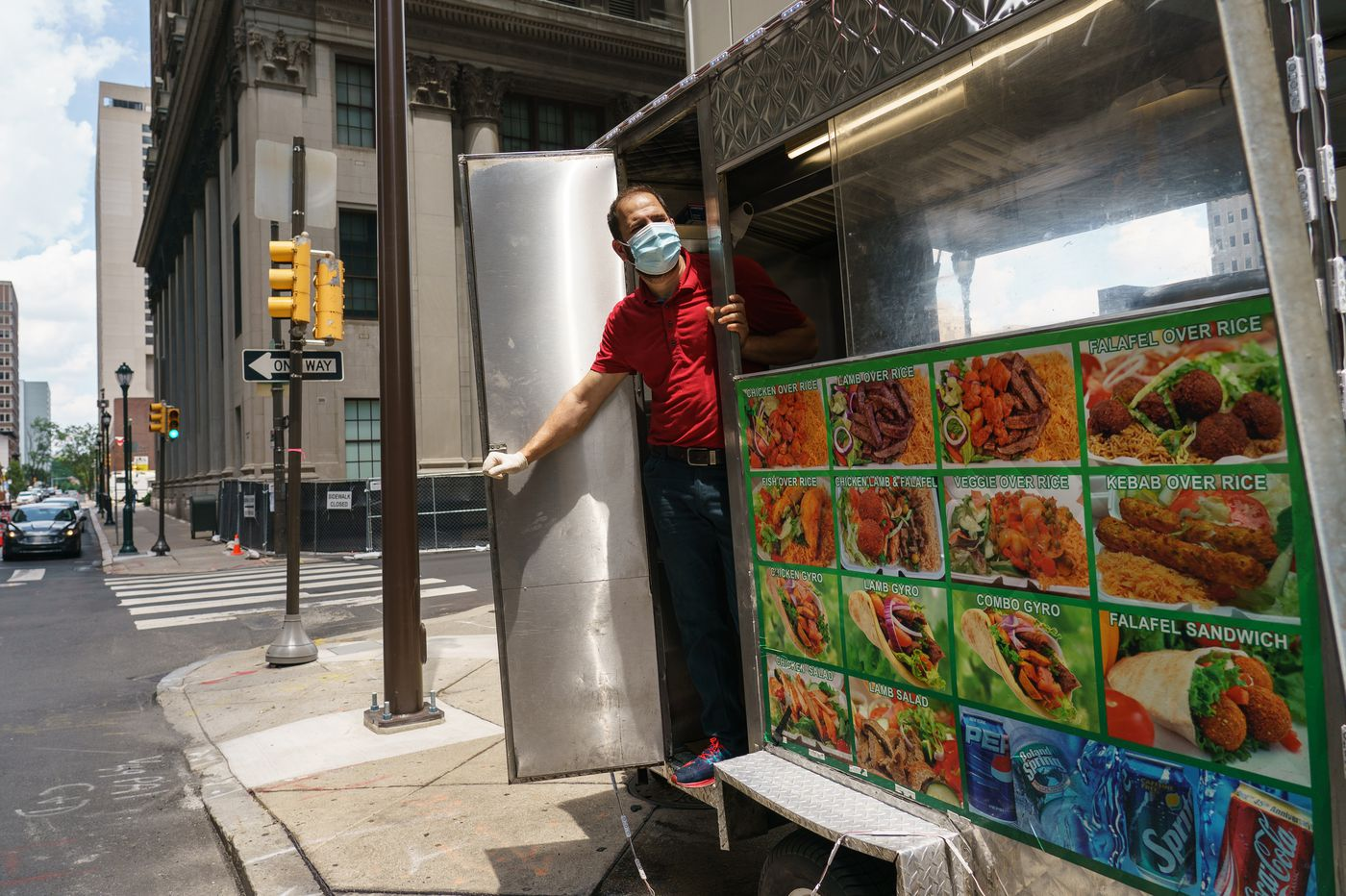 Philly is reopening but office workers are staying home. That means peril for lunch spots and stores.