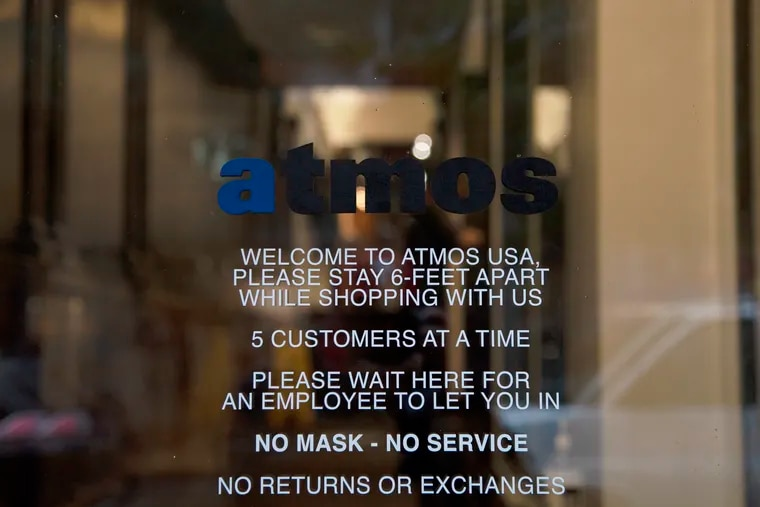Atmos is being bought by Foot Locker for $360 million.