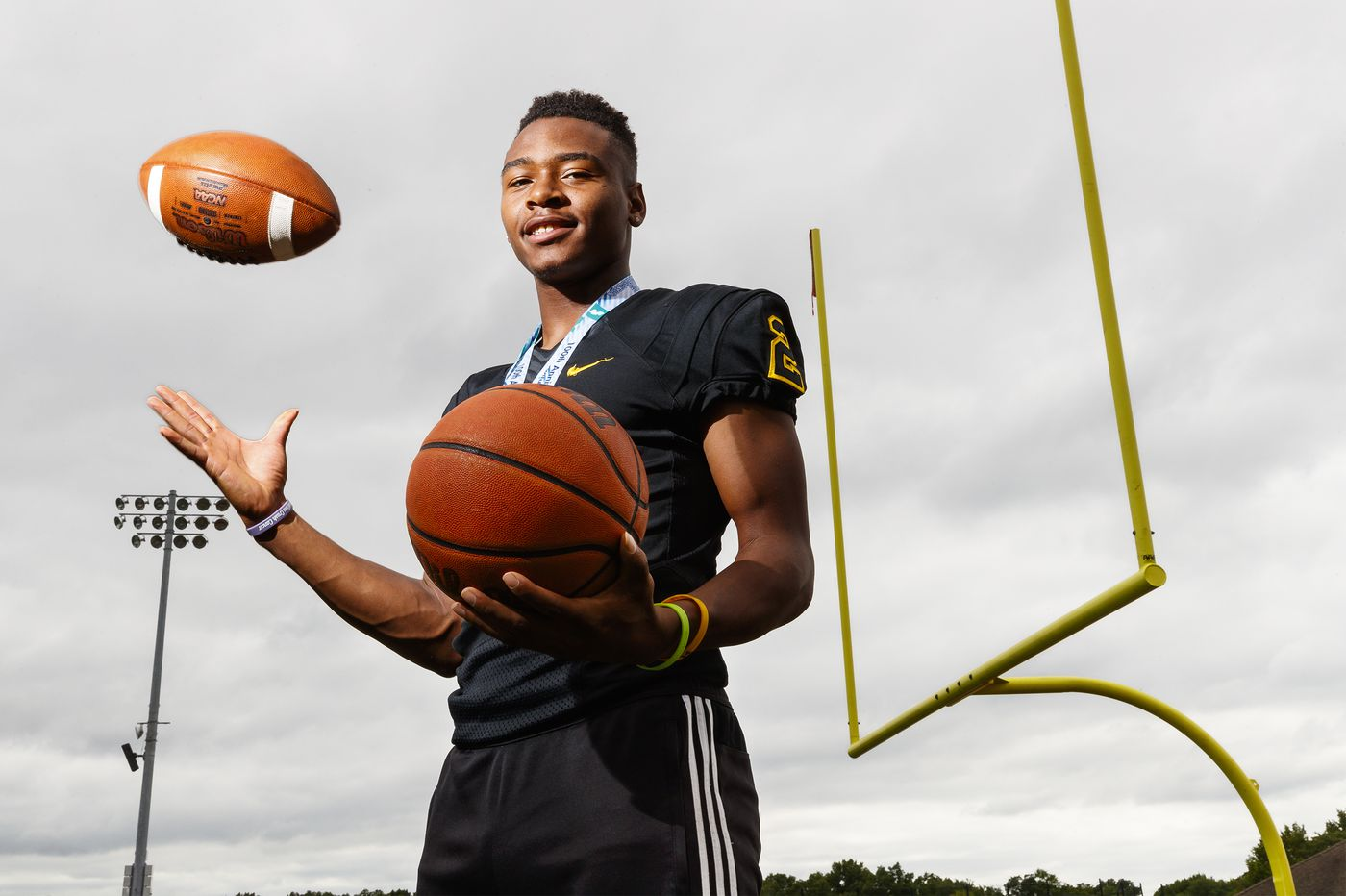 Moorestown star Nick Cartwright-Atkins is South Jersey's senior boy athlete of year