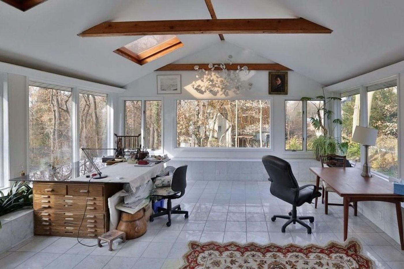 For sale in Philly: A bright Mount Airy home with private studio