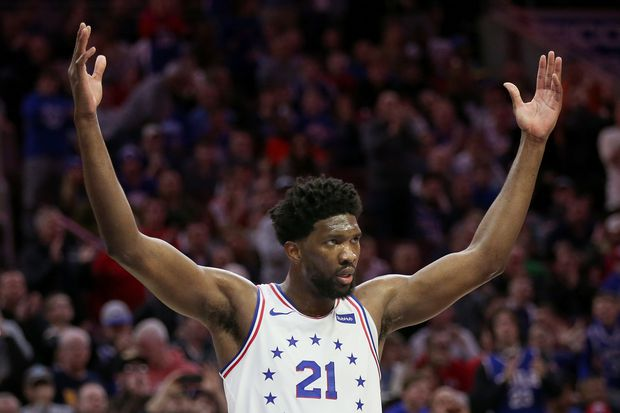 Sixers' Joel Embiid reaches milestone in victory over James Harden, Houston Rockets