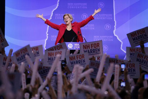 Elizabeth Warren builds momentum, energy to challenge Joe Biden, Bernie Sanders