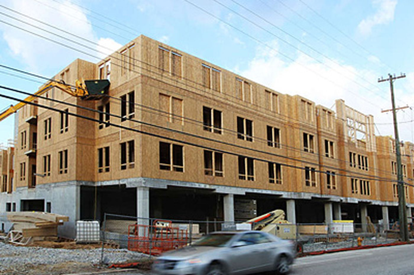 Malvern apartment complex nears completion after 10 years in the works