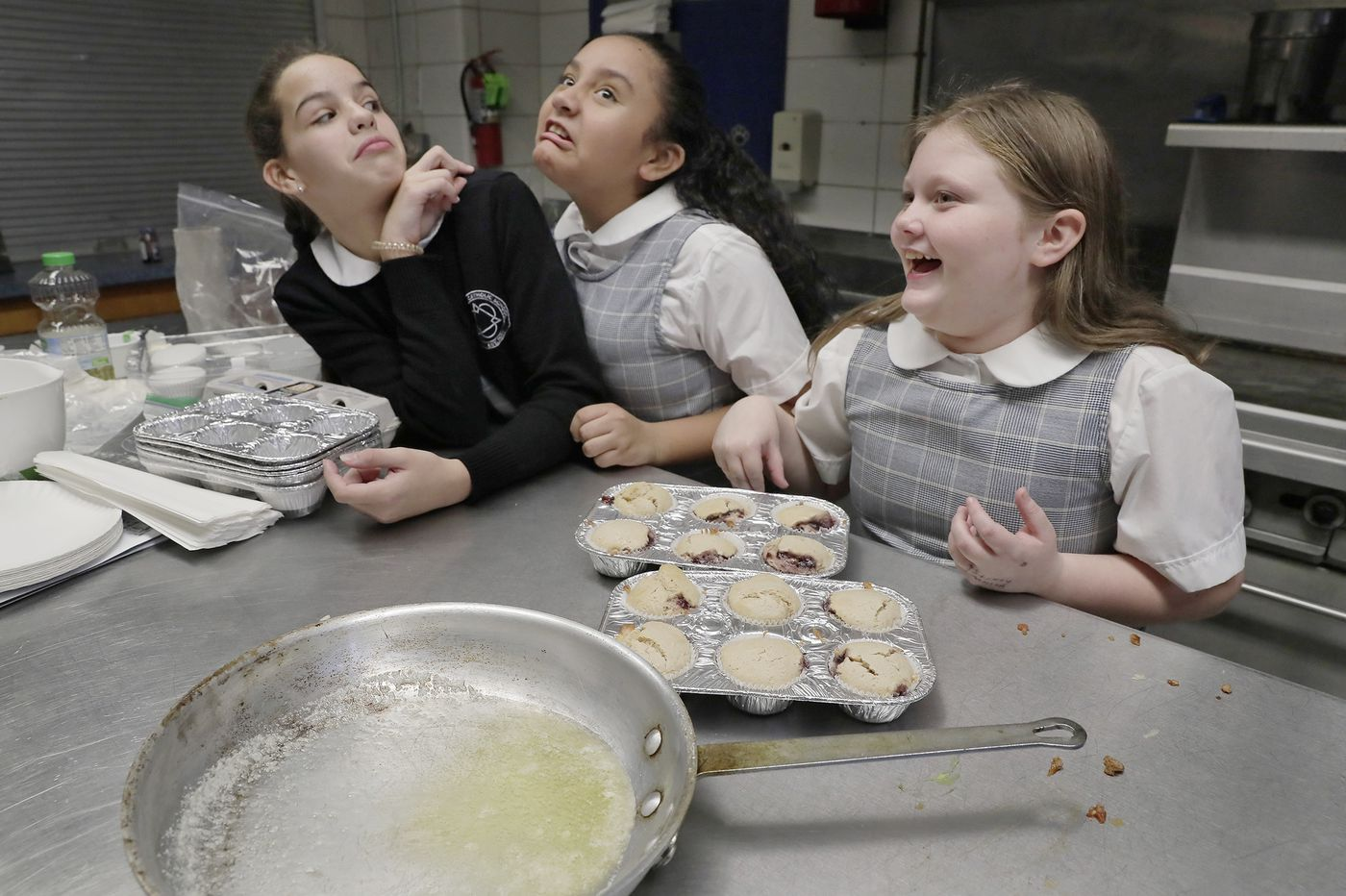 'Just chop through it, man,' and other life lessons Philly students learn in the kitchen