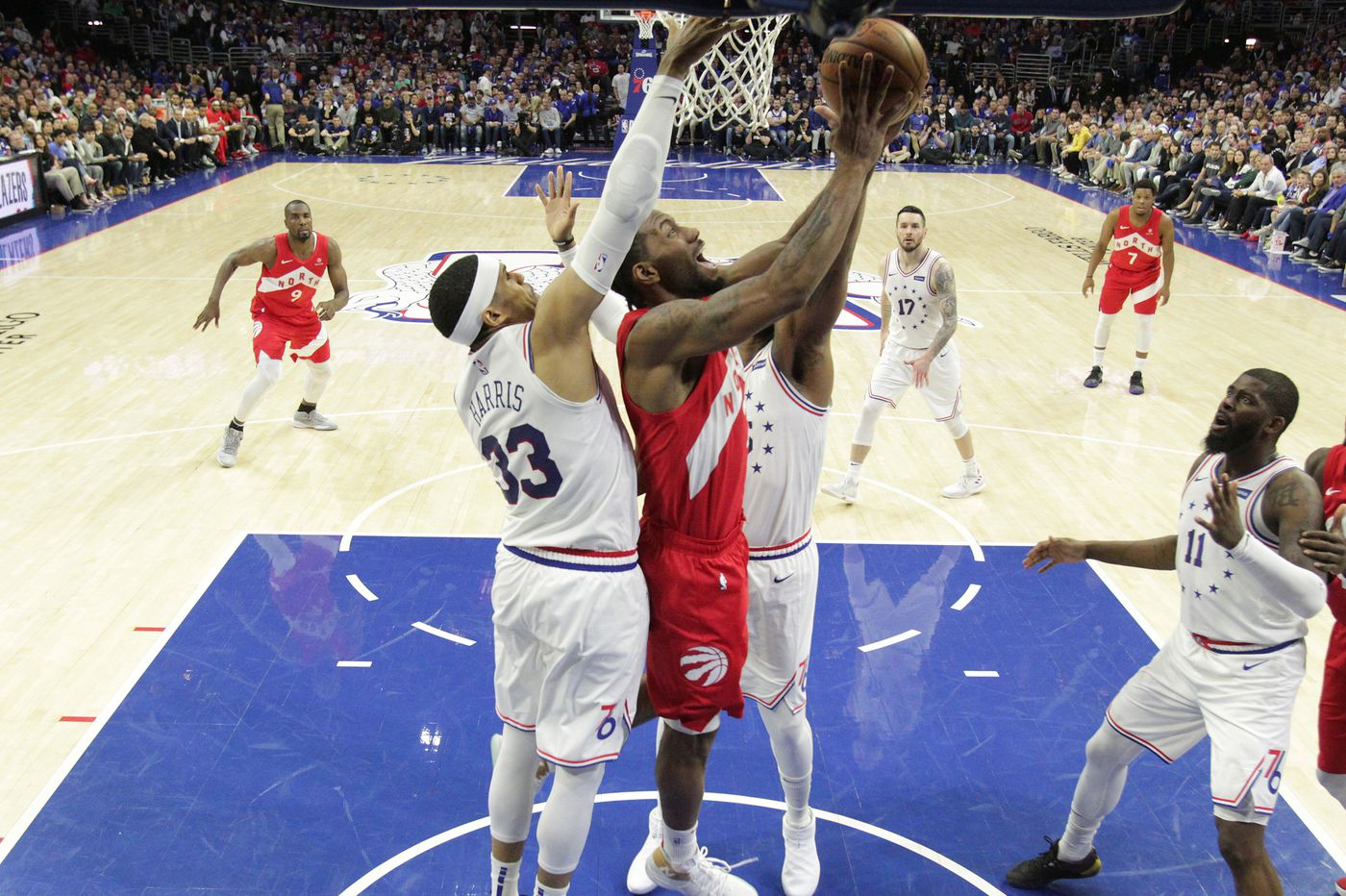 c137c0e4d34 NBA playoffs: Raptors' Kawhi Leonard expects Sixers' best shot in Game 6