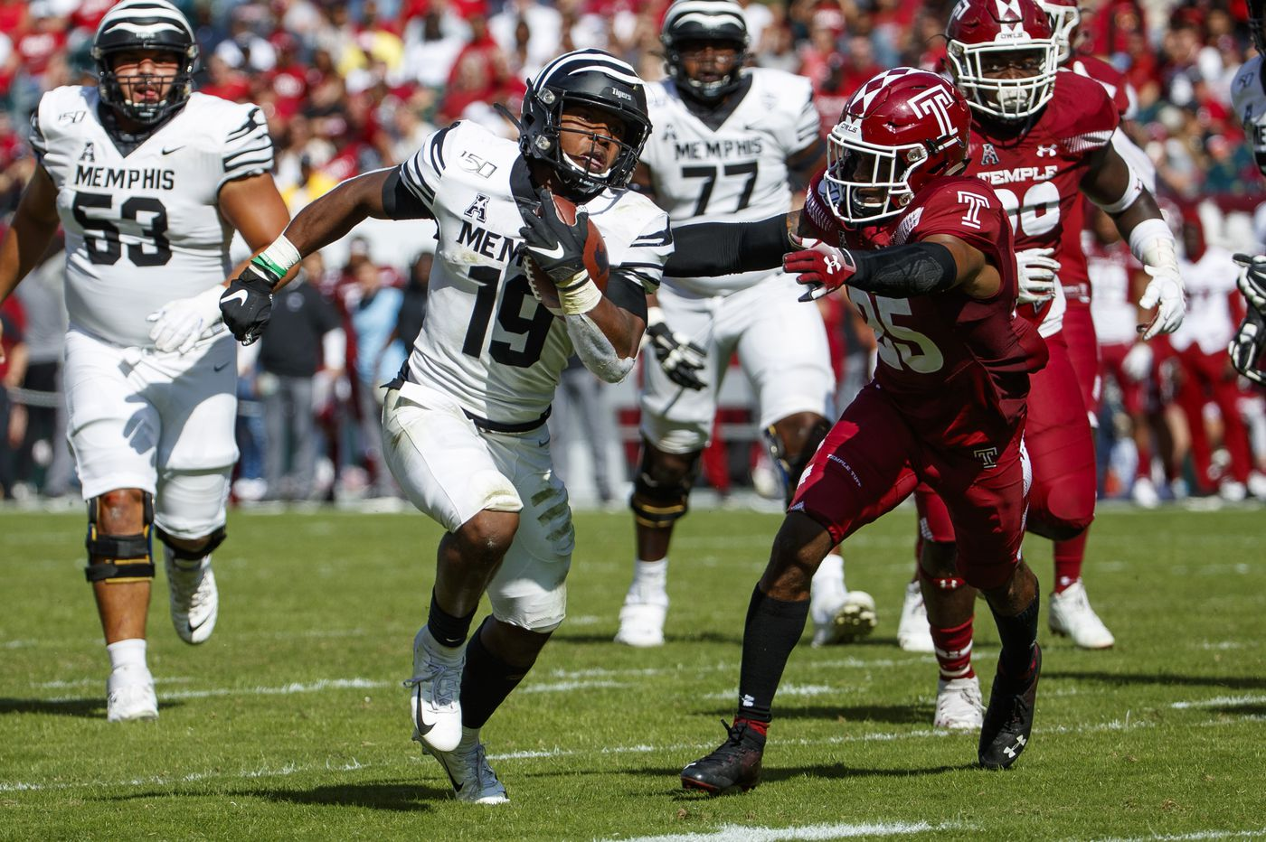 Memphis' explosive offense has Penn State's attention